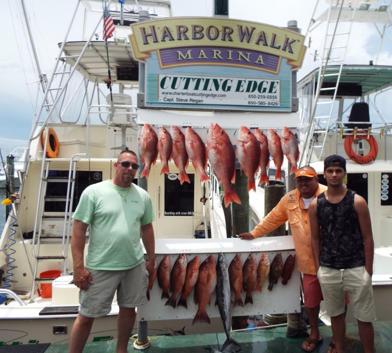 The first day of Red Snapper season on June 1, 2015!