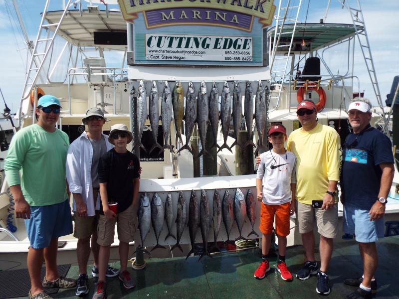 Nice catch of Kings on May 28, 2015!