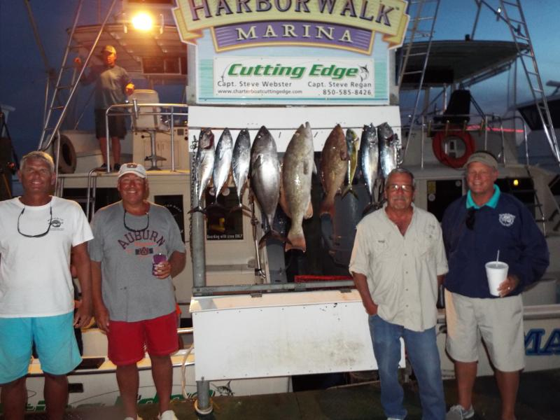Our repeat customers and friends enjoyed pulling in a nice catch October 8th!